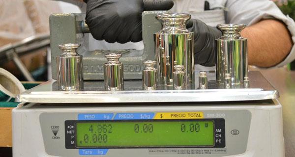 Calibración de básculas